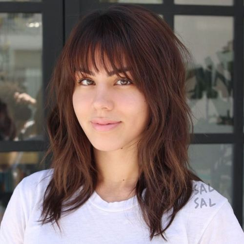 Haircuts with Bangs: New trends 2021 - 2022
