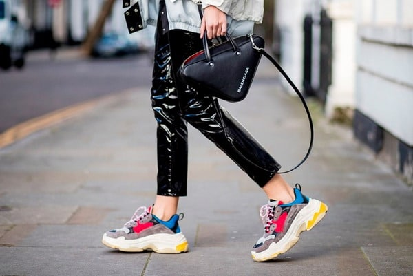 Fashionable women's sneakers 2021 - 2022: Photos of new products, trendy, new trends