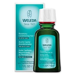 Weleda Rosemary Hair Oil - Oil for hair growth with rosemary