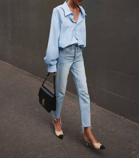 Jeans trend 2022: This is how we wear the trendy straight leg jeans in spring