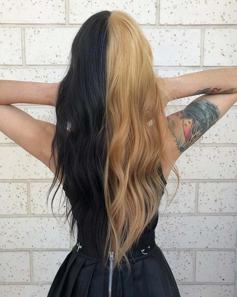 Two Tone Hair: Refreshing Hair Trends 2022 You Should Know