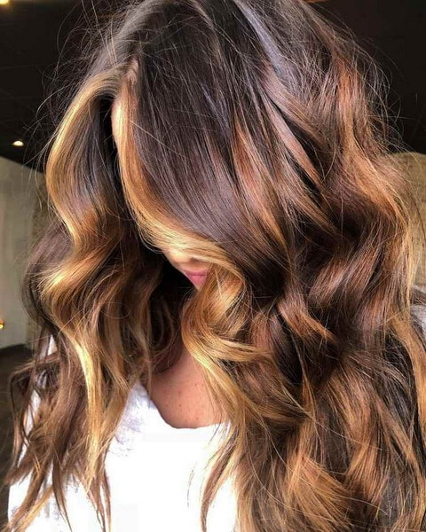 Hair colour fall 2023